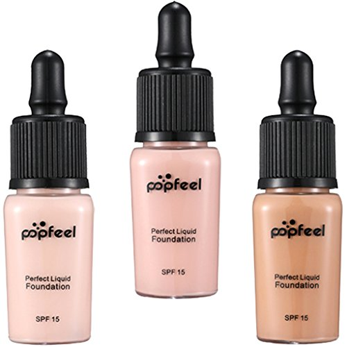 Gazechimp 3 Farben Gesicht Make-up Concealer Abdeckcreme, Contour und Highlight Liquid Concealer Foundation Kontur Stift - Set #3 Highlight Und Kontur-make-up-set
