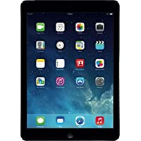 Apple iPad Air - Tablet de 9.7 (Bluetooth WiFi, 16 GB, 1 GB RAM, iOS), negro