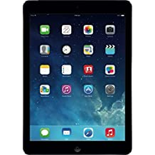 Apple iPad Air 24,6 cm (9,7 Zoll) Retina Display Tablet (A7, 16 GB, Wi-Fi, iOS 8) Spacegrau