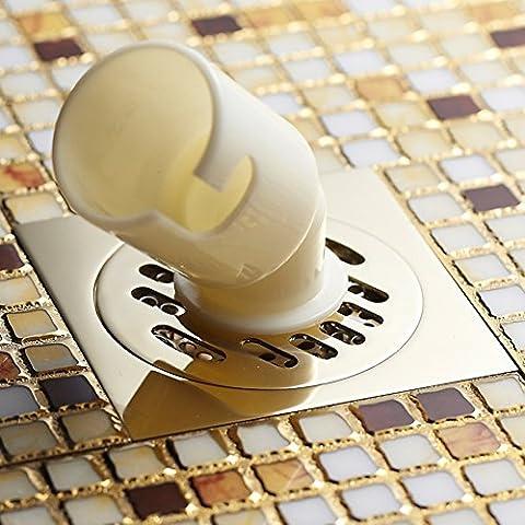 Scarico a pavimento rame deodorante/ perdita di servizi igienici-D