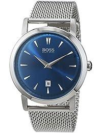 Hugo Boss Herren-Armbanduhr Slim Ultra Analog Quarz Edelstahl 1513273