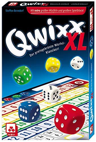 NSV - 4022 - QWIXX XL - Würfelspiel - Spielkarten Großhandel