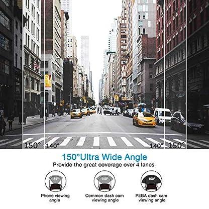 Dashcam-Super-Full-HD-1296p-Nachtsicht-G-Sensor-Autokamera-DVR-Camcorder-27-Zoll-LCD-Bildschirm-Loop-Aufnahme-Auto-Dash-Camera-WDR-Bewegungserkennung-Parkmonitor-PEBA