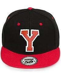 4sold baseball cap ABC Letter ABC Casquette Snapback en Rouge / Blanc avec les lettres A à Z