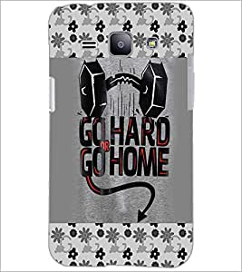 PrintDhaba Quote D-4124 Back Case Cover for SAMSUNG GALAXY J1 (Multi-Coloured)