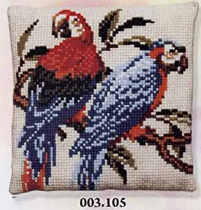 Pako - Macaw Cushion Front - 105 by Pako