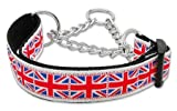 Mirage Pet Products Hundehalsband mit Union-Jack-Flagge, Nylon, Größe L