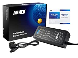 Anker® Golden Laptop AC Adapter Charger for Acer Aspire 5750 5733 5001 5002 5003 5004 5005 5051 5052 5101 5102 5110 5310 5315 5332 5334 5335 5336 5338 5410 5500 5510 5512 5513 5520 5530 5532 5535 5536 5540 5541 5542 5551 5552 5553 5560 5570 5580 5600 5610 5612 5625 5633 5650 5670 5680 5715 5720 5730 5732 5733z 5734 5735 5736 5738 5740 5741 5742 5745 5810 5920 5930; Acer ICONIA TAB W500 W500p; fits SADP-65KB D Power Supply with UK Mains Cable [19V 3.42A 65W 18-month Warranty]