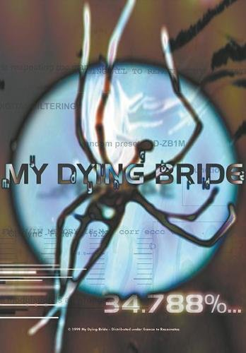 my dying bride 34.788 % complete POSTERFLAGGE