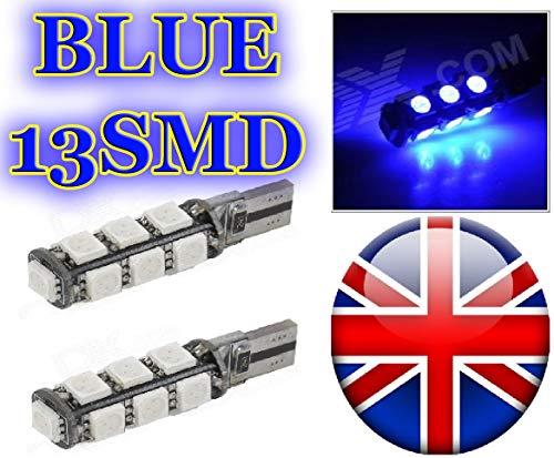 V W GOLF MK4 MK5 LED FOOTWELL LIGHT BULBS UPGRADE - TDI GT V6 VR6 4MOTION  (12 SMD BLUE)
