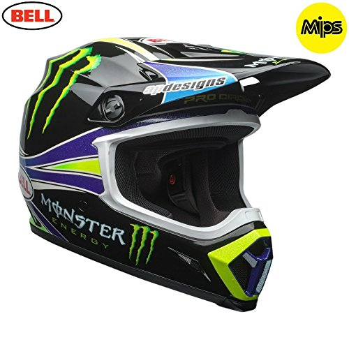 Price comparison product image 2018 Bell MX9 Pro Circuit Monster Energy Motocross Helmet MIPS XLarge 61-62cm