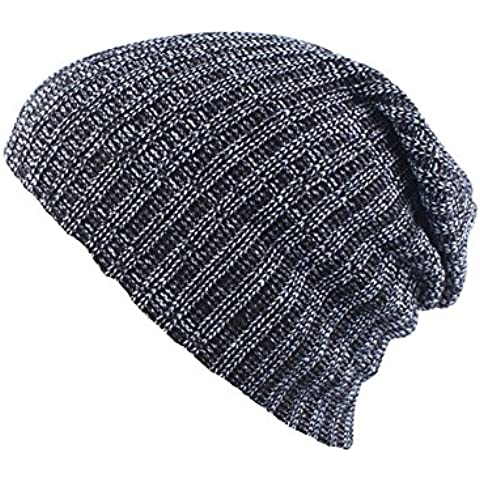 B-B Fashion Warm Soft Stretch Knit Slouch Beanie Hat Outdoor Cap