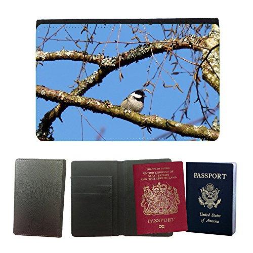 GoGoMobile Muster PU Passdecke Inhaber // M00119366 Vogel Luster Cup Zweige Bäume // Universal passport leather cover (Cup Zweig)