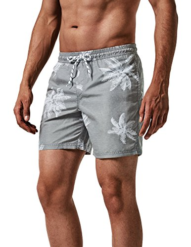 7d0ea37d8f MaaMgic Men's Swim Trunks Quick Dry Casual Short with Pockets Fit  Performance Surfing Wear