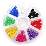 Bonew 160PCS/Box dentale color code anelli in silicone di grado medicale materiali misti Colorfull