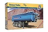 Italeri - I3845 - Maquette - Voiture et Camion - Semi-Remorque Benne - Echelle 1:24