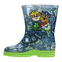 Paw Patrol Wellingtons Boys Boots Mid Calf Blue UK Sizes 5-10 Infant
