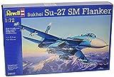 Revell Modellbausatz Flugzeug 1:72 - Sukhoi Su-27 SM Flanker im Maßstab 1:72