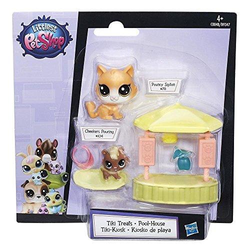 Hasbro B9347 Littlest Pet Shop Tiki Treats Englisch Version, Minipuppe