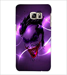 PrintDhaba Joker D-2836 Back Case Cover for SAMSUNG GALAXY NOTE 5 EDGE (Multi-Coloured)