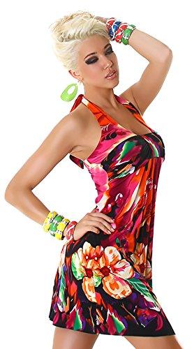 damen-neckholder-mini-strandkleid-flower-red-mixed-grosse-34-36
