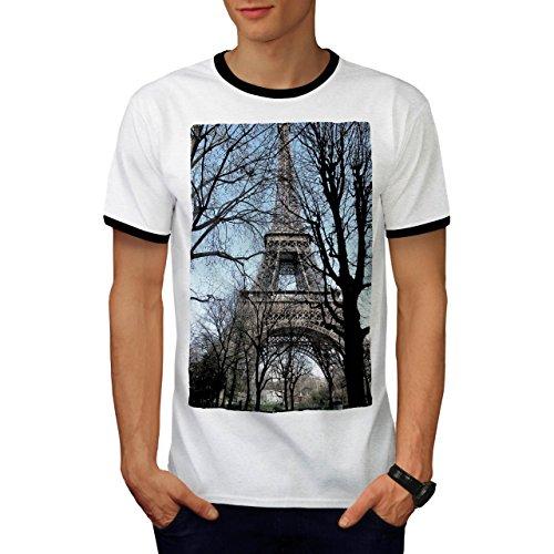 Weiblich Frankreich Kostüm (Paris Foto Tag Mode Frankreich Aussicht Herren M Ringer T-shirt  )