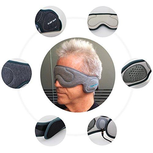 Sleep tailor yoto confortevole sagomato mascherina per gli for Cuffie insonorizzanti per dormire