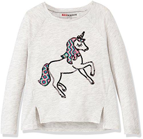 RED WAGON Girl's Unicorn Tee Short Sleeve T-Shirt