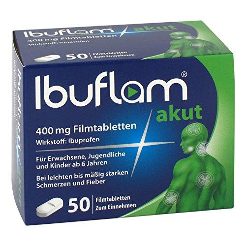 Ibuflam akut 400mg 50 stk