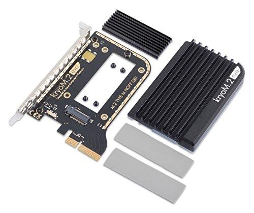 Aqua Computer kryom.2EVO PCIe 3.0X4Adaptador