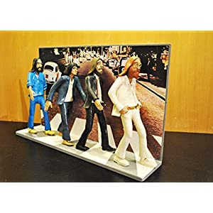 ACTION FIGURES (8.2 inch) - Statuette - Action-Figuren mit den Beatles Abbey Road Landschaft