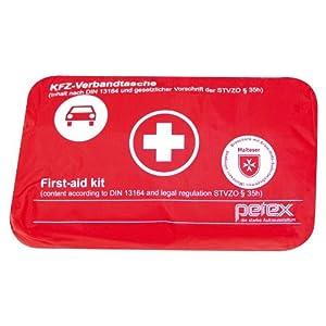 PETEX Verbandtasche Inhalt nach Din 13164, rot