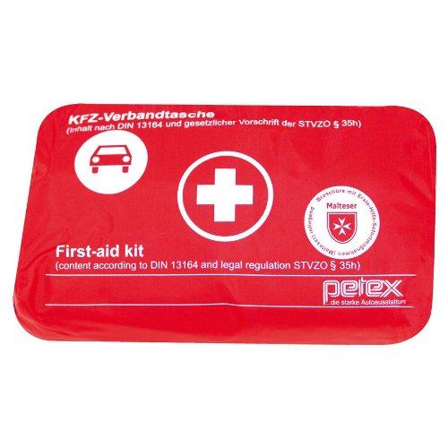 Preisvergleich Produktbild Petex 43930012 Verbandtasche Inhalt nach DIN 13164, rot