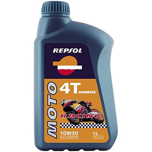 Repsol - Olio Hmeoc 1T, 10w30, 4 l, per moto da corsa