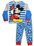 Disney - Pigiama a maniche lunga per ragazzi - Mickey Mouse - 2 a 3 Anni