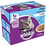 Whiskas 1  Years Cat Pouches Fish Selection in Jelly^  12 x 100 g