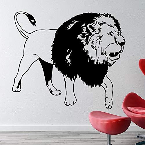 Hype umliegenden löwen entfernbare wandaufkleber DIY Aufkleber tapete für Wohnzimmer Schlafzimmer stikers wanddekoration wandbilder l 43 cm x 37 cm
