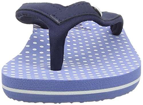Animal Swish Slim Aop, Tongs Femme Bleu (Navy 005)