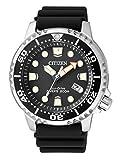 Citizen Herren-Armbanduhr XL Promaster Marine Analog Quarz Plastik BN0150-10E
