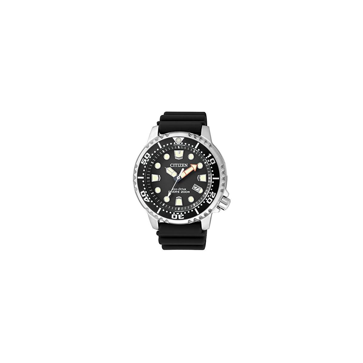 51RlsWV2IIL. SS1200  - Citizen Reloj Analógico para Hombre de Cuarzo con Correa en Poliuretano BN0150-10E