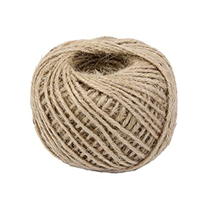 50M Wrap Gift Hemp Rope Ribbon Twine Rope Cord String Ball Natural : everything five pounds (or less!)