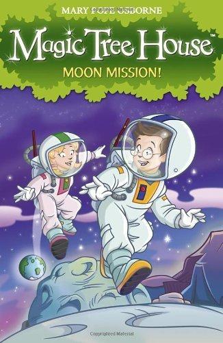 Magic Tree House 8: Moon Mission! (English Edition)