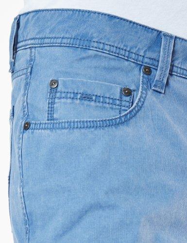 Pioneer Herren Straight Leg Hose 1680 3852 Rando Blau (royal blue 57)