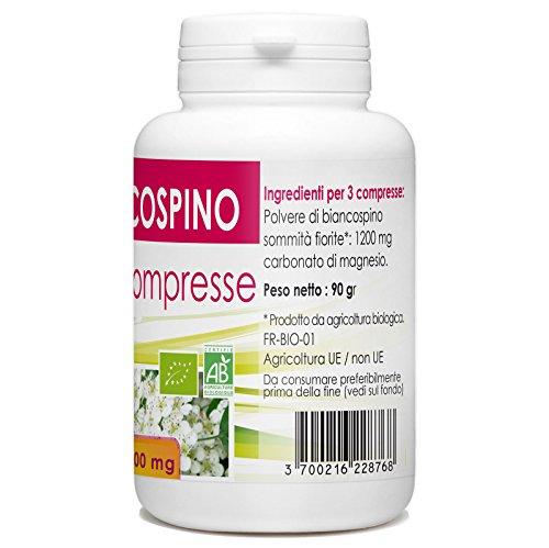 51RlwyFCNjL - Impianto da Biancospino - Box di 200 compresse da 400 mg
