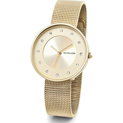 Lambretta Watches Uhr mit Miyota Bewegung Woman Himmel 34.0mm