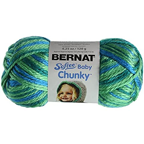 Spinrite-Ombre Softee Chunky Yarn-Jungle Jive, altri,