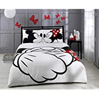 Lenzuola Matrimoniali Mickey Mouse.Amazon It Lenzuola Minnie E Topolino Matrimoniale Includi Non