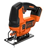 BLACK+DECKER BDCJS18N-XJ Seghetto Alternativo, Nero/Arancione