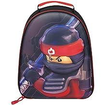 Bolsa de almuerzo de Lego Ninjago School | Bolsa de Lego Movie 3D Ninjago Kai | Presente perfecto para cualquier pequeño amante ninja