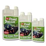 Robinet de bassin Médecin Traitement Anti Algues l'eau Koi poissons Vert Filtre Transparent poisson rouge
